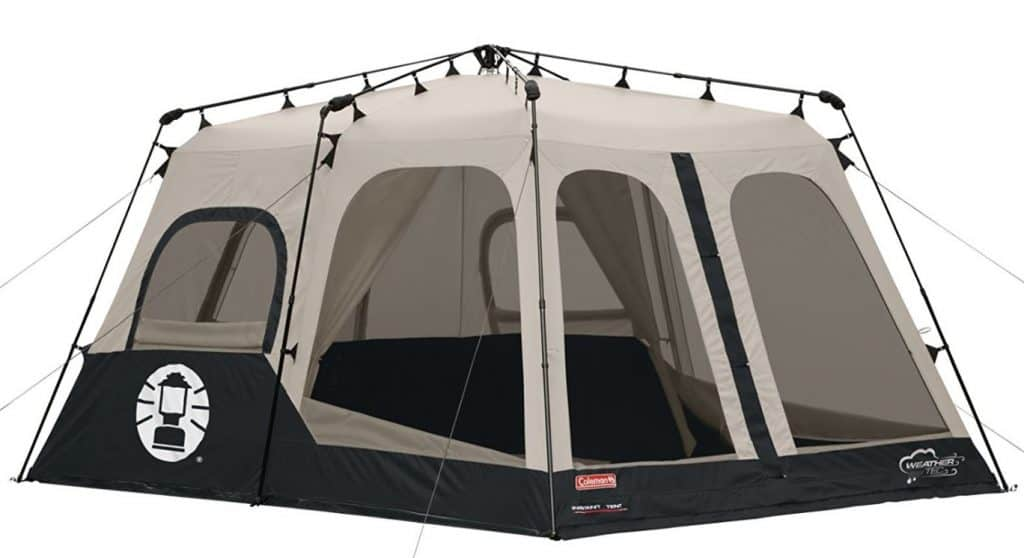 Coleman 8 person instant tent pop up tent