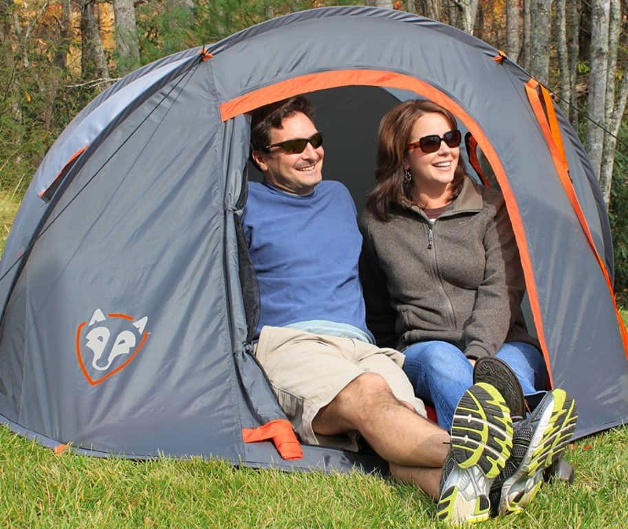 Rightline Gear 1109995 Pop Up Tent, one of the best pop up tents in the market