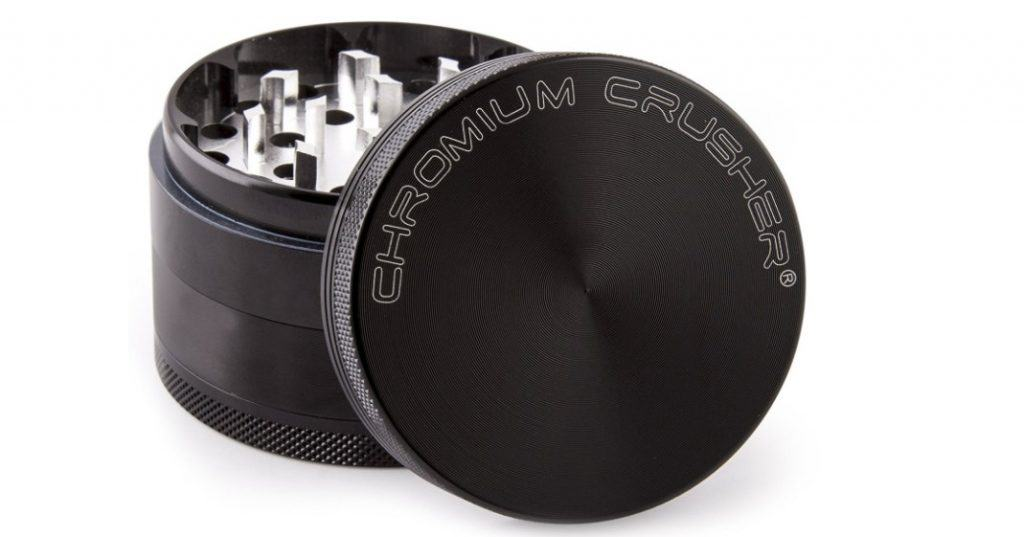 Chromium Crusher Tobacco, Spice and Herb Grinder