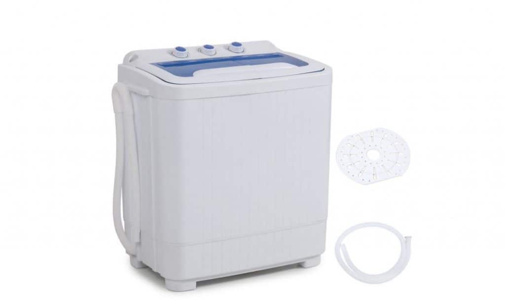 Della Mini Washing Machine Portable Compact Washer