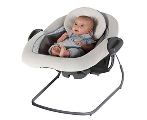 DuetConnect LX Baby Swing and Bouncer