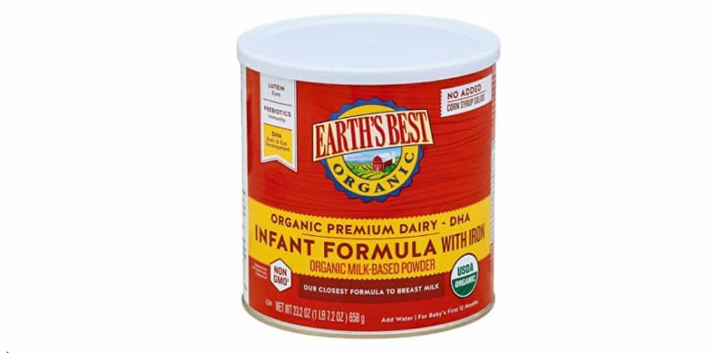 Earth's Best Organic Infant Formula, Best Baby Formula Closest To Breast Milk