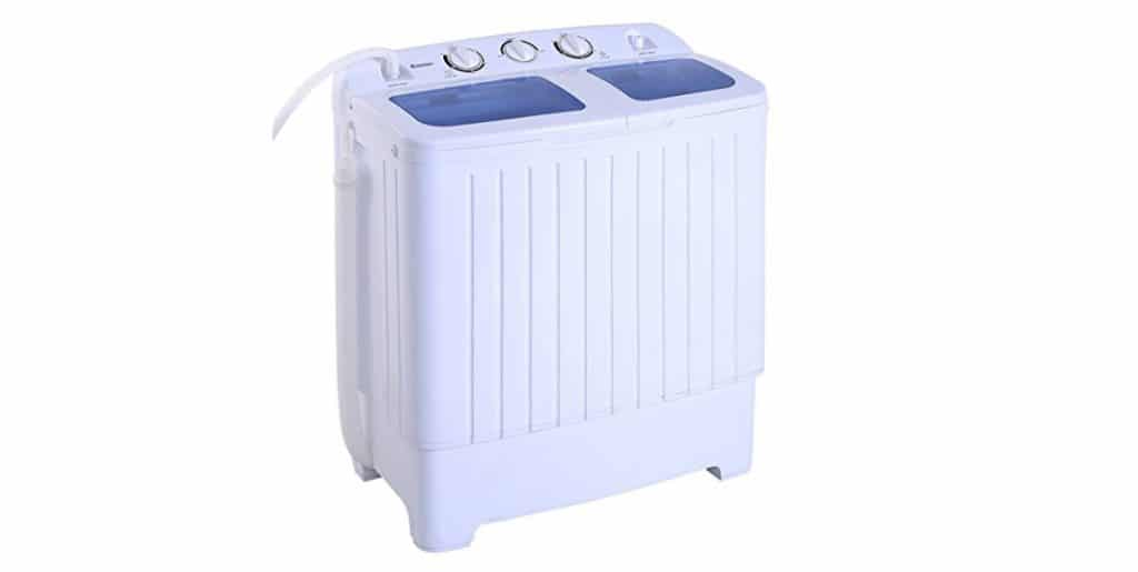 Giantex Portable Mini Compact Twin Tub Washing Machine, best mini washing machines