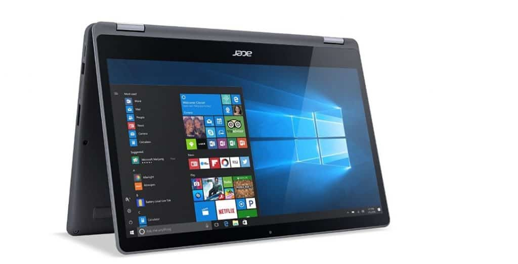 Aspire R15 from Acer, the best laptops for artists