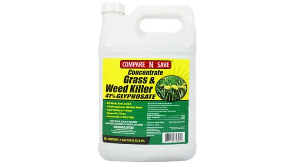 Concentrate Weed and Grass Killer from Compare-N-Save