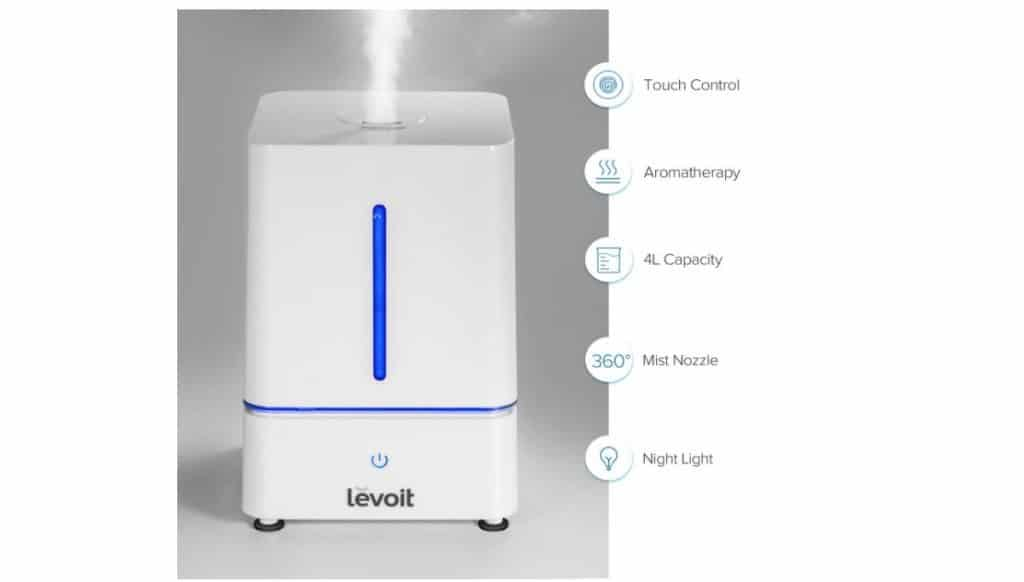 Cool Mist 4L Humidifier from Levoit