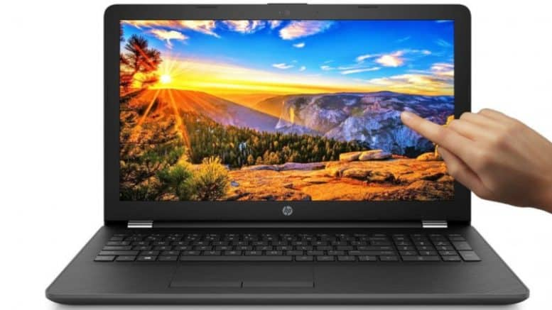 Touch Screen 15.6-Inch Laptop from HP