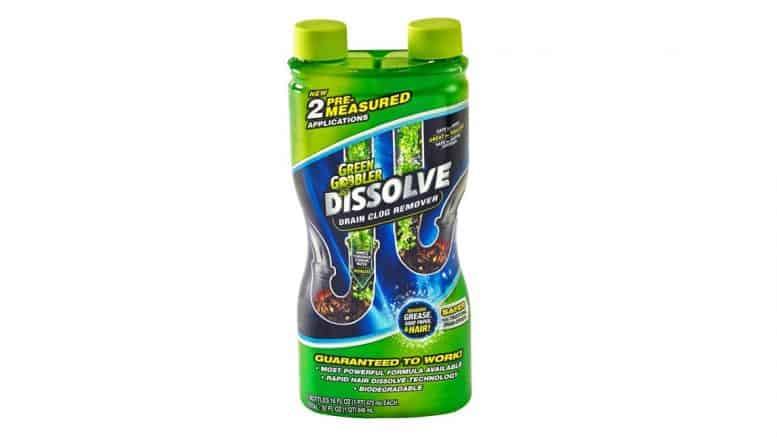 Grease Clog, Hair Remover and Drain Cleaner from Green Gobbler