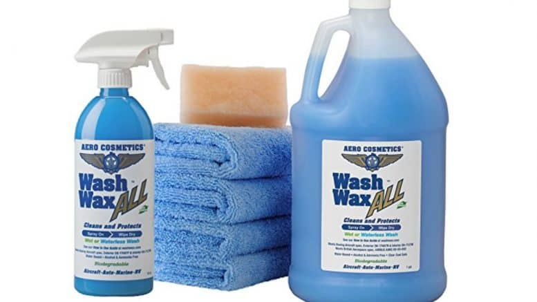 Wash Wax All from Aero Cosmetics, car wash soap