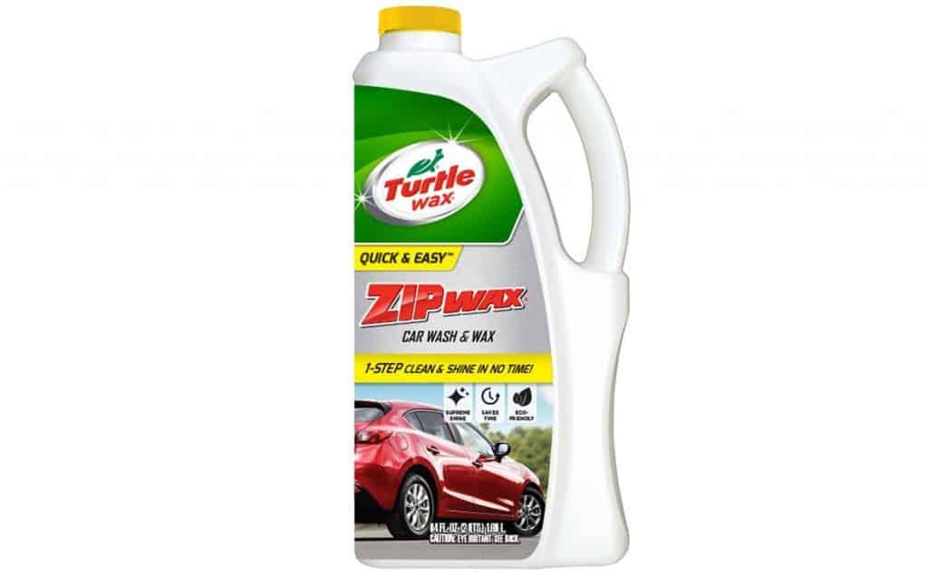 Zip Wax Car Wash & Wax from Turtle Wax