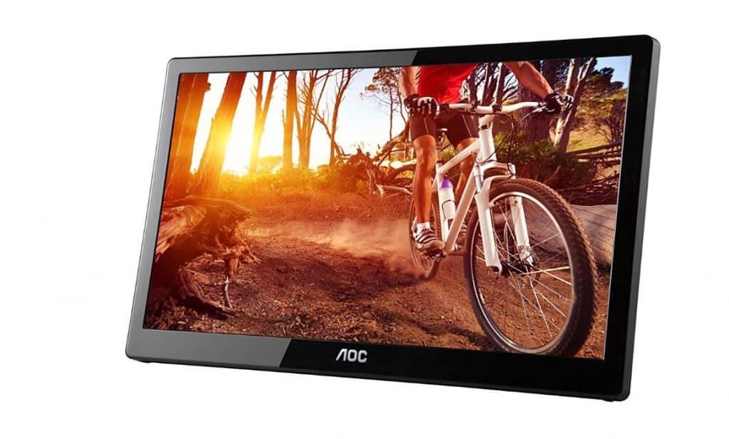 AOC 16-Inch Ultra Slim LED Portable Monitor