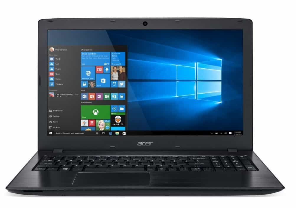 Acer Aspire E 15'' Full HD Notebook is one of the best laptops for writers