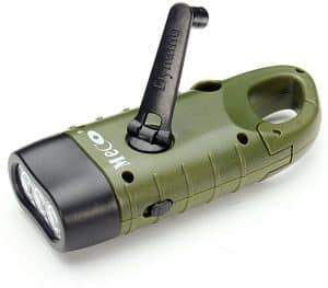 best hand cranking flashlight