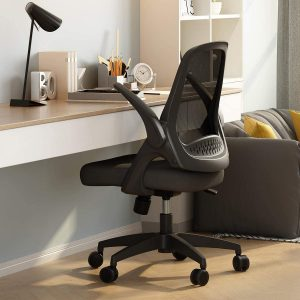 best home office chair with flip up arms