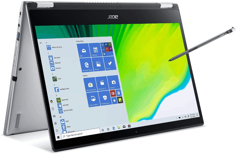 acer spin laptop